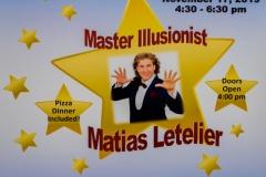 Illusionist Matias Letelier 11.17.2019
